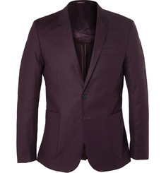 COS Slim-Fit Stretch-Cotton Twill Blazer