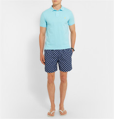 Polo Ralph Lauren Mid-Length Polka-Dot Swim Shorts