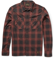 Neighborhood Plaid Cotton-Flannel Shirt