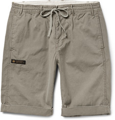 Neighborhood Drawstring Washed-Cotton Shorts