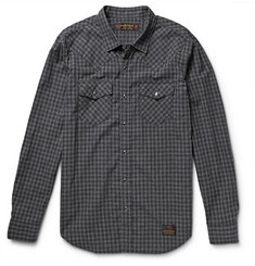 Neighborhood Checked Cotton Shirt