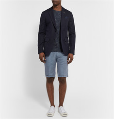 Gant Rugger Slim-Fit Linen and Cotton-Blend Twill Shorts
