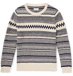 Gant Rugger Cotton Jacquard-Knit Sweater