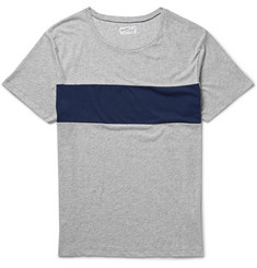 Gant Rugger Panelled Cotton-Jersey T-Shirt