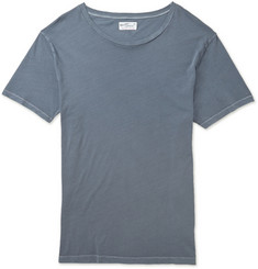 Gant Rugger Slim-Fit Garment-Dyed Cotton-Jersey T-Shirt