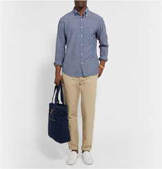 Gant Rugger Printed Cotton-Chambray Shirt