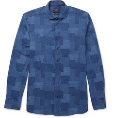 Hackett Patchwork Cotton Shirt