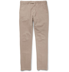 Hackett Mayfair Slim-Fit Cotton-Blend Twill Trousers