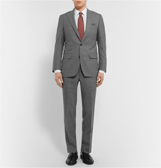 Thom Sweeney Grey Weighouse Slim-Fit Wool Suit