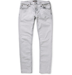 Nudie Jeans Skinny-Fit Long John Slim-Fit Denim Jeans