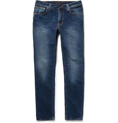 Nudie Jeans Lean Dean Bay Slim-Fit Stretch-Denim Jeans