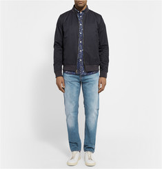Nudie Jeans Steady Eddie Slim-Fit Washed Organic Denim Jeans