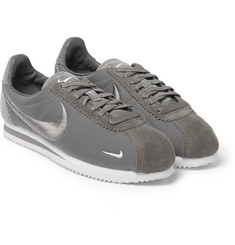 Nike - Classic Cortez Suede, Corduroy and Mesh Sneakers