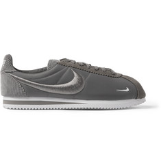 Nike Classic Cortez Suede, Corduroy and Mesh Sneakers