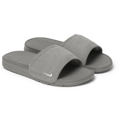 Nike Benassi Solarsoft Corduroy and Rubber Slides