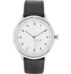 Mondaine Helvetica No1 Stainless Steel Watch