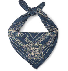 RRL Printed Cotton Scarf