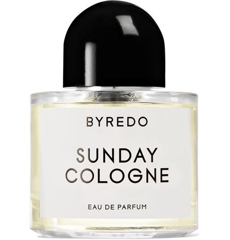 Sunday Cologne Eau De Parfum   Vetiver, Bergamot, 50ml by Byredo