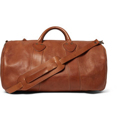 RRL Rockport Leather Duffle Bag