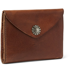 RRL Concha Leather Wallet