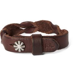 RRL Braided Leather Cuff