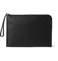 Loewe Embossed Leather Portfolio