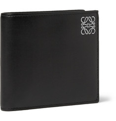 Loewe Monogrammed Leather Billfold Wallet