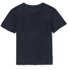 Massimo Alba Garment-Dyed Cotton-Jersey T-Shirt