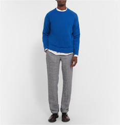 Massimo Alba Garment-Dyed 1-Ply Cashmere Sweater