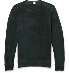 Massimo Alba Watercolour-Dyed Cashmere Sweatshirt
