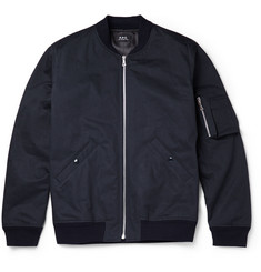 A.P.C. Herringbone Cotton Bomber Jacket