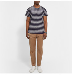 A.P.C. Striped Cotton-Jersey T-Shirt