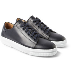 A.P.C. - Rubber-Soled Leather Sneakers
