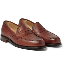 Cheaney Howard Pebblegrain Leather Loafers