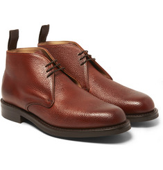 Cheaney Jackie Pebblegrain Leather Chukka Boots