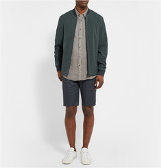 Theory Karter Linen and Cotton-Blend Shorts
