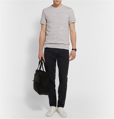 Theory Danen Mélange Cotton-Jersey Sweatshirt