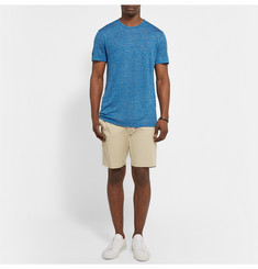 Theory Koree Mélange Linen T-Shirt