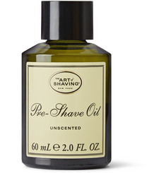 The Art of Shaving Unscented Pre-Shave Oil, 60ml