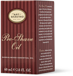 The Art of Shaving Sandalwood Pre-Shave Oil 60ml