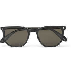 Garrett Leight California Optical Bentley D-Frame Matte-Acetate Sunglasses