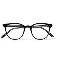 Garrett Leight California Optical Wellesley Acetate Rectangular-Frame Sunglasses