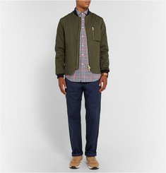 Billy Reid Slim-Fit Checked Cotton Shirt