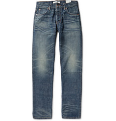 Billy Reid Slim-Fit Washed-Denim Jeans