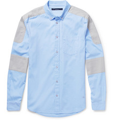 Marc by Marc Jacobs Panelled Cotton Oxford Shirt