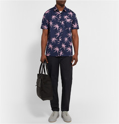 Marc by Marc Jacobs Palm-Print Cotton-Poplin Shirt