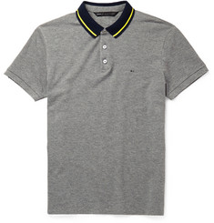Marc by Marc Jacobs Contrast-Collar Cotton-Piqué Polo Shirt