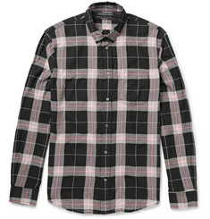 Marc by Marc Jacobs Thomas Slim-Fit Plaid Cotton-Blend Shirt