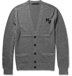 Marc by Marc Jacobs Embroidered Merino Wool Cardigan