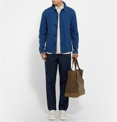Oliver Spencer Drawstring Cotton Trousers